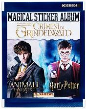 Panini Фантастични животни: Престъпленията на Гринделвалд - Пакет с 5 бр. стикери