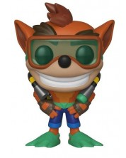 Фигура Funko Pop! Games: Crash Bandicoot - Crash With Scuba Gear , #421 -1