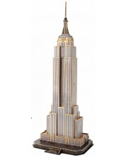 3D Пъзел Cubic Fun от 66 части - Empire State Building, New York -1