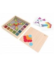 Дървена играчка Classic World - Мозайка, цветна -1