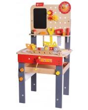 Детска дървена маса Classic World - Работилница -1