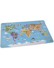 Пъзел Classic World от 48 части - Карта на света -1