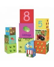 Игра с кубчета Classic World - Зеленчуци -1