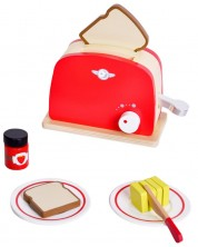 Дървена играчка Classic World - Ретро тостер -1