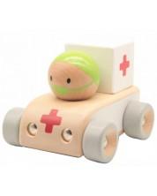 Дървена играчка Classic World - Линейка -1