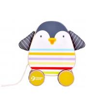 Играчка за дърпане Classic World - Пингвинче -1
