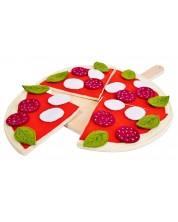 Игрален комплект Classic World - Пица, с дъска за рязане -1