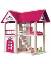 Дървена къща за кукли Woody - Анна-Мария -1