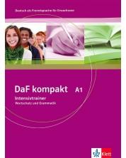 DaF kompakt Intensivtrainer: Немски език - ниво А1. Учебно помагало -1