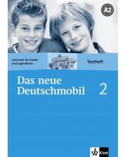 Das neue Deutschmobil 2: Учебна система по немски език - ниво А2 (тетрадка с тестове) -1