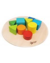 Игра за баланс Classic World - Цветни форми