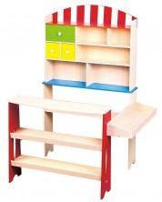 Дървен магазин Lelin -1
