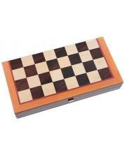 Комплект шах и табла Manopoulos - 30 x 15 cm -1