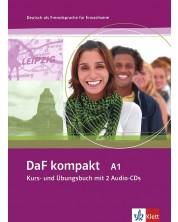 DaF kompakt: Немски език - ниво А1 + 2 CD -1
