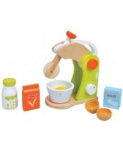 Игрален комплект Lelin - Детски  миксер, с продукти, зелен