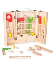 Дърводелски комплект за игра Classic World -1