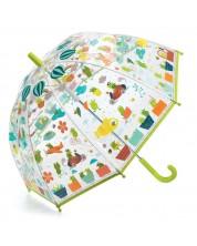 Детски чадър Djeco - Светът на жабоците -1