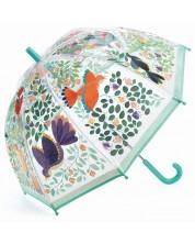 Детски чадър Djeco - Цветя и птици