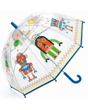 Детски чадър Djeco - Роботи -1