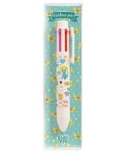 Химикалка с 6 цвята Djeco Rainbow - Elodie -1