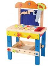 Игрален комплект Lelin - Дървена работилница