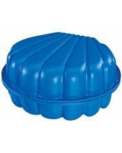 Детски пясъчник BIG - Мида, синя -1