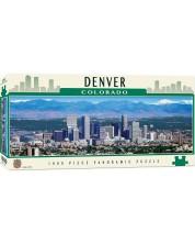 Панорамен пъзел Master Pieces от 1000 части - Денвър, Колорадо -1