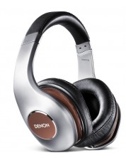 Слушалки Denon AH-D7100 - сребристи