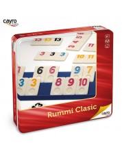 Детска игра Cayro - Rummi Classic, в метална кутия