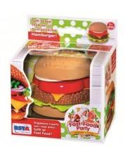 Детска играчка RS Toys - Бургер, в кутия -1