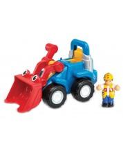 Детска играчка Wow Toys Construction - Багера Люк