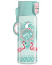 Детска бутилка Ars Una Pink Flamingo - 475 ml