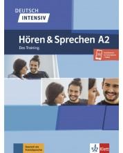 Deutsch intensiv Horen und Sprechen A2 Das Training/Buch + Onlineangebot /