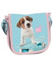 Детска чанта през рамо Paso Studio Pets - С капак -1