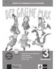 Der grüne Max 3 Arbeitsbuch mit Audio-CD