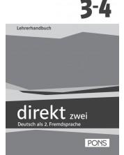 Direkt zwei 3 и 4: Учебна система по немски език (ниво B1 и B1+) - 9. и 10. клас (книга за учителя) -1