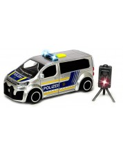 Детска играчка Dickie Toys SOS Series - Полицейски ван с радар, 1:32 -1