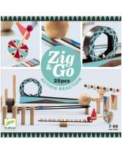 Детски конструктор Djeco Zig & Go - 28 части -1
