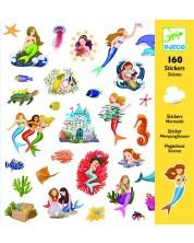 Стикери Djeco - Русалки, 160 броя -1