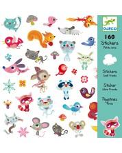 Стикери Djeco - Малки приятели, 160 броя