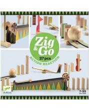 Детски конструктор Djeco Zig & Go - 27 части