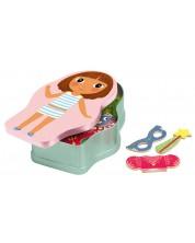 Детска игра с магнити Djeco - Феи и принцеси