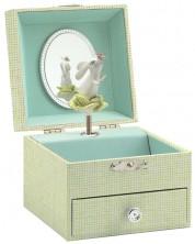Музикална кутия за бижута Djeco - Песента на сладкото зайче -1