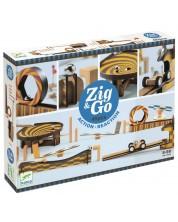 Детски конструктор Djeco Zig & Go - 45 части