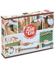Детски конструктор Djeco Zig & Go - 48 части -1