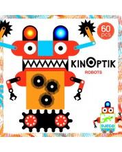 Анимирани картини КинОптик Djeco – Роботи, 60 части -1