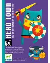 Детска игра с карти Djeco - Hero Town -1