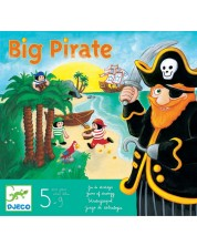 Детска игра Djeco - Големият пират