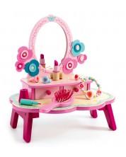 Детска тоалетка Djeco - Флора, от дърво -1