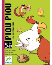 Детска игра с карти Djeco -  Piou Piou -1
